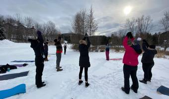 FREE Snow Yoga Class - MOVE OUTDOORS THIS WINTER!