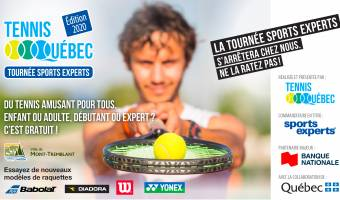 Tournée Sports Experts de Tennis Québec