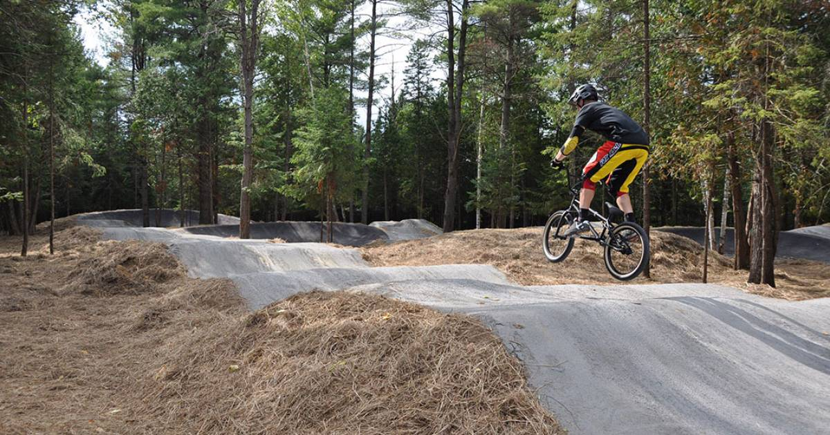 Pump Tracks City Of Mont Tremblant